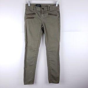 J Crew Toothpick Skinny Ankle Pants Size 24